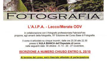Corso Base di Fotografia (Iscrizioni fino al 25/10)