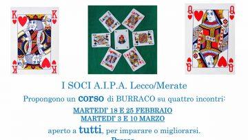Lezioni di Burraco 4 incontri (Febbraio/Marzo 2020)